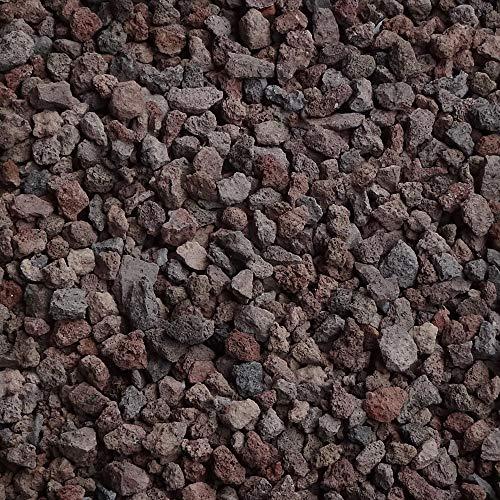 Jawoll 20 L Lava-Mulch 8-16 mm Körnung Zierkies Gartenkies Teichkies Splitt Zen Garten Deko Wegkies Wegsteine Gartenweg