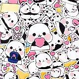 BLOUR 40pcs Creative Cute Selbstgemachte Panda Animal DIY Aufkleber Tagebuch Album Dekoration...