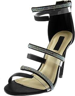 Zapatos Essatén Mujer Amazon Para Umvszp Sandalias De Vestir xBQhCrdots