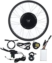 Ebike Conversion Kit, Ebike Conversion Kit with 72V 3000W Motor Ebike Motor Kit 26inch Wheel LCD5 Meter Bicycle Conversion Kit