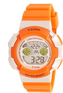 Vizion Digital Multi-Color Dial Children's Watch -8540B-6