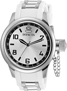 Invicta Russian Diver Quartz Silver-Tone Dial Ladies Watch 31249