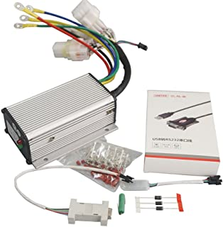 QSMOTOR Electric Motor Controller QSKLS7212S 24V-72V 120A Brushless DC Controller for Electric Bicycle