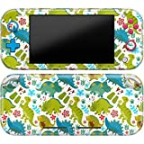 Cavka Vinyl Decal Skin Compatible with Console Switch Lite (2019) Stickers with Design Green Dinosaurs Full Set Flowers Faceplate Protector Wrap Branches Cover Durable Print Animal Pattern Happy