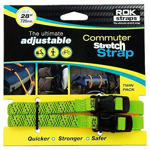 Oxford ROK Straps LD 12 mm verstellbar grün reflektierend ROK330