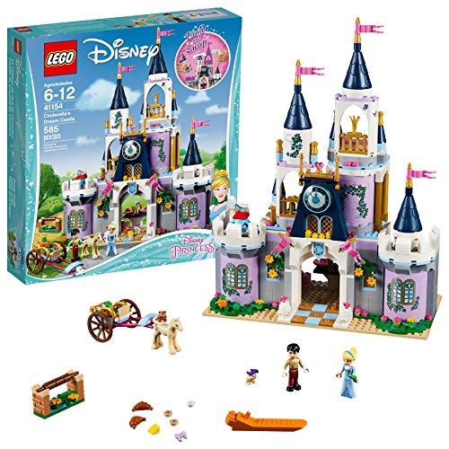 LEGO Disney Princess Cinderella's Dream Castle 41154 Popular Construction Toy for Kids (585 Pieces)