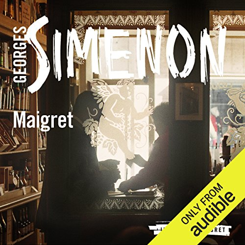 Maigret audiobook cover art
