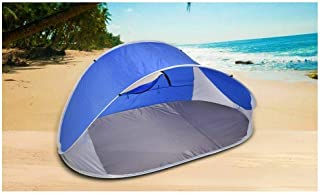 4 Person Pop Up Camping Tent Beach Shelter Hiking Sun Shade Shelter Fishing Grey -