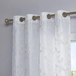 Best silk net curtains Reviews