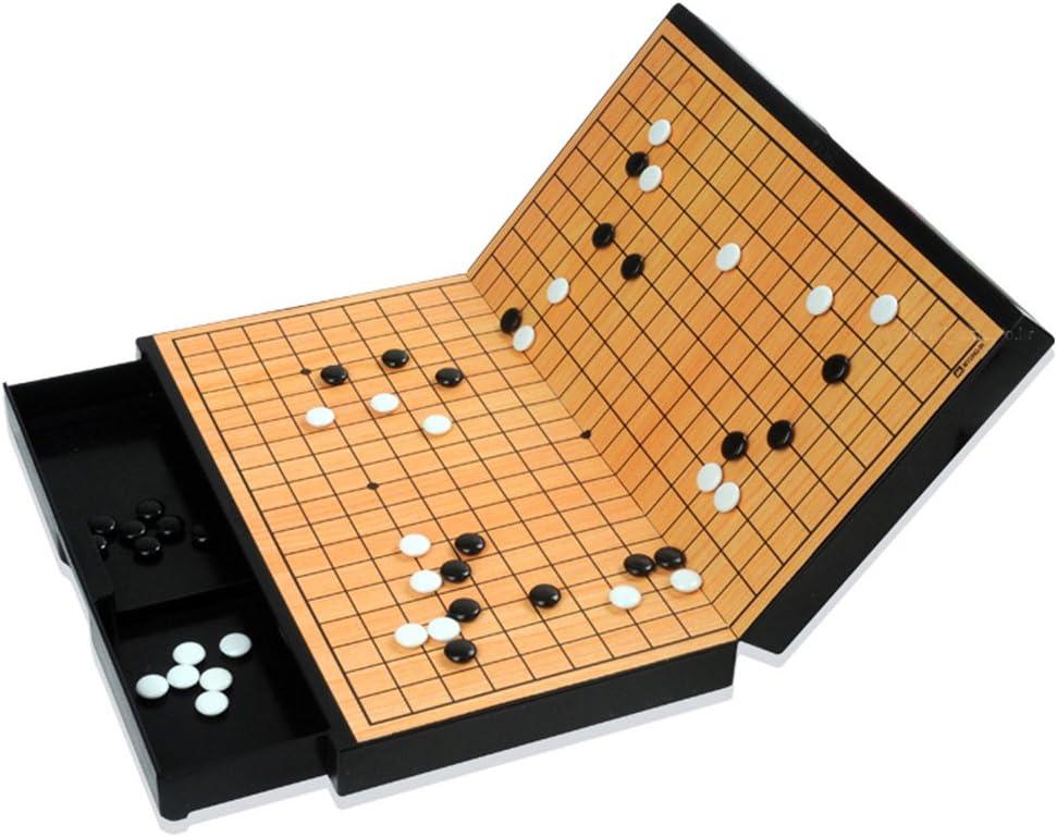 デポー MYUNGINLAND Magnetic Go Board Game Stones Fold 交換無料 Piece WeiQi Baduk