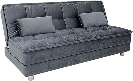 Furny Gaiety Supersoft Sofa Cum Bed (Grey)