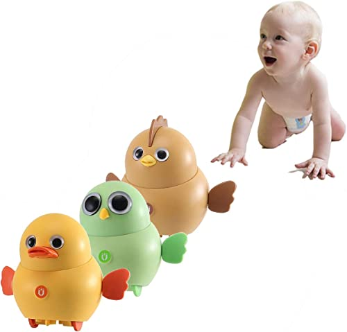 wholesale Electronic Interactive Toy Chicken for Kids Walking Swinging Chicken for Kids Magnetic Moving Toy new arrival Chicks Swing Team Lovely Rocking outlet sale Electric Animal Toys Set Gift Toy for Kids Children, 3 PCS online