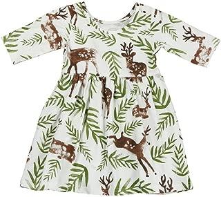 baby girl deer dress