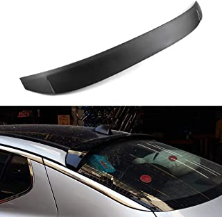 SCITOO Black ABS Rear Roof Window Deflector Visor Spoiler 124 Inch x 13 Inch Replacement fit for 2011-2015 Kia Optima Rio