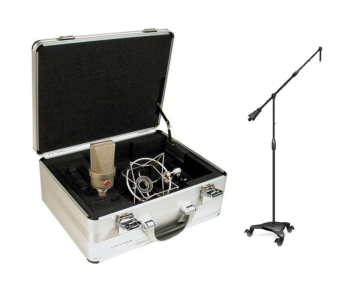 Neumann TLM 103 Set Cardioid Condenser Microphone + Ultimate MC-125 Stand