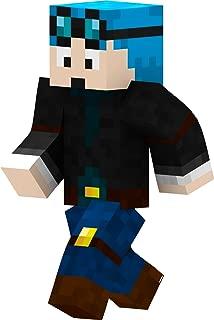 EnderToys Blue Hair Miner Boy 24 Inch Wall Decal