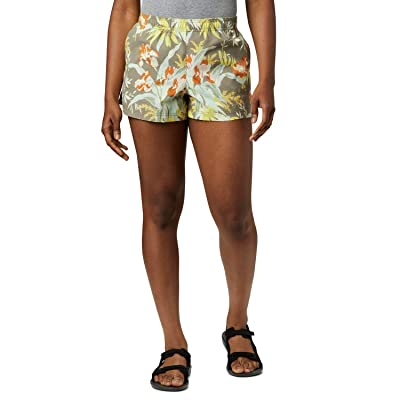 Columbia Sandy Rivertm II 3 Printed Shorts (Buttercup Magnolia Print) Women