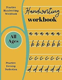 Handwriting Workbook: Practice And Perfect Your Handwriting Skills