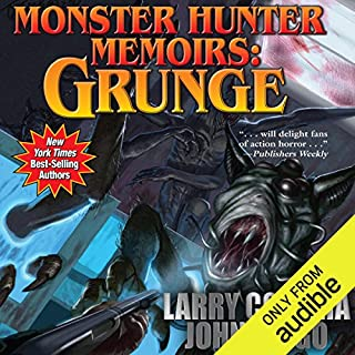 Monster Hunter Memoirs: Grunge                   By:                                                                                                                                 John Ringo,                                                                                        Larry Correia                               Narrated by:                                                                                                                                 Oliver Wyman                      Length: 12 hrs and 21 mins     5,432 ratings     Overall 4.5