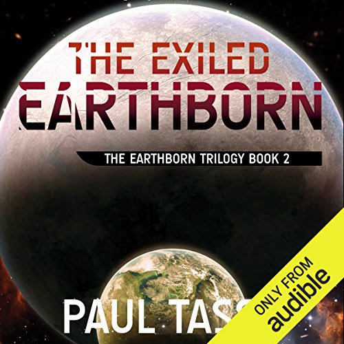 The Exiled Earthborn audiobook cover art