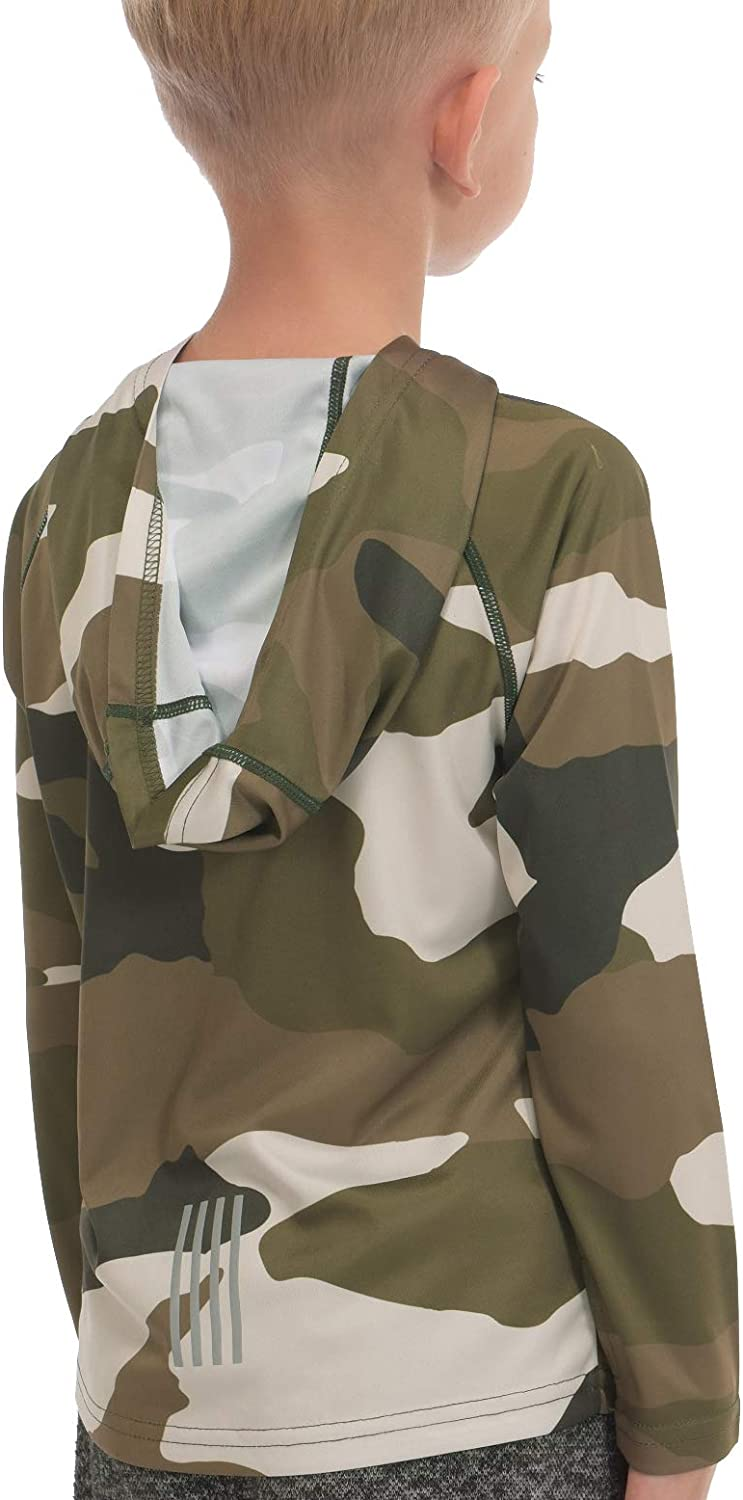 Hoodies for Boys Outdoor Recreation Shirts - Youth Athletic Tops Sun Protection UPF 50+: Clothing