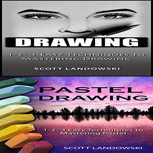 Drawing & Pastel Drawing audiobook cover art