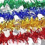 AMOYER Garlands Hängen Band Flagge New Year Party Verziert Weihnachtsbaum-dekor Für Geburtstag, Kinder-Party-deko, Weihnachtsdekoration Gelb