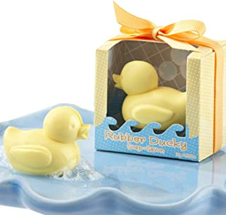 Cutest Duck Gift Soap Favors for Rubber Ducky Theme Baby Shower Favors (24 Boxes)