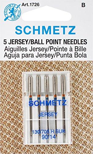 25 Schmetz Jersey Ball Point Sewing Machine Needles 130/705 H SUK Size 90/14