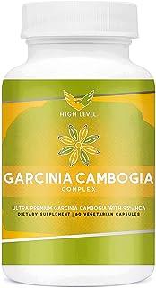 High Level Ultra Premium Garcinia Cambogia Complex | 95% HCA | 60 Vegetarian Capsules | 100% Pure | Natural Weight Loss Di...