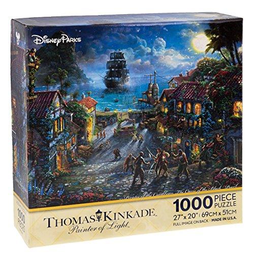 Disney Parks Exclusive Thomas Kinkade Pirates of Caribbean 27x20 1000 Pc. Puzzle by Disney