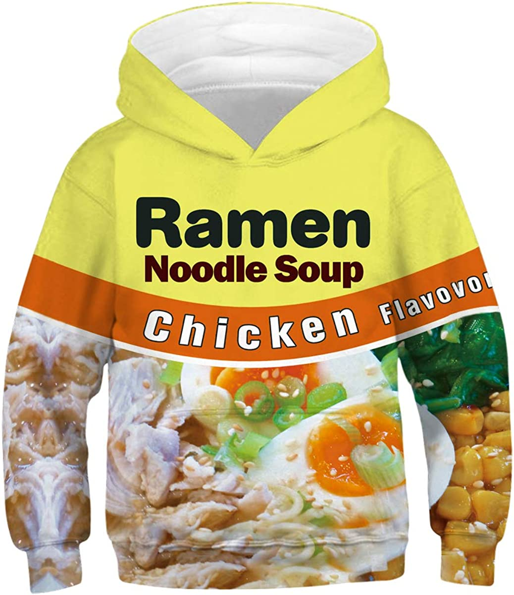 URVIP Unisex 3D Print Galaxy Pullover Hoodie Sweatshirts for Teens Jumpers