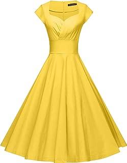 Womens Dresses Party Dresses 1950s Vintage Dresses Swing Stretchy Dresses
