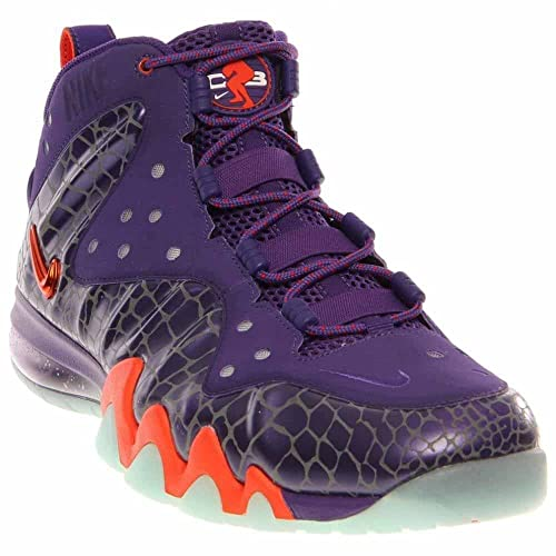 6130951c306 Nike Barkley Posite Max 555097 581 Mens Basketball Trainers Sneakers Court  Purple Team Orange Phoenix Suns