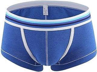 HaiDean Men's Briefs Boxer Shorts Elastic Casual Modern Comfortable Breathable Soft Basic Underpants Panty Panties Underwear