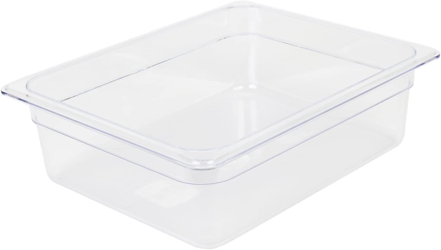 Excellante Half Size 4-Inch Polycarbonate Deep Pan Many popular brands unisex Food
