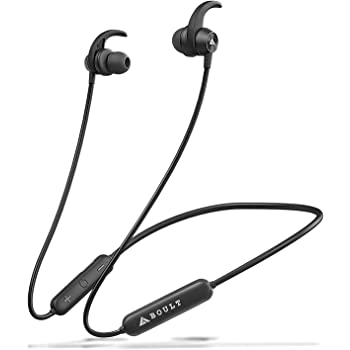 Boult Audio ProBass X1-WL in-Ear Wireless Earphones with 8 Hours Battery Life, Latest Bluetooth 5.0, IPX5 Sweatproof Headphones with mic (Black)