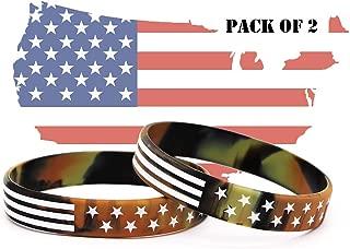 army bracelets rubber