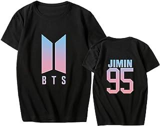 babyHealthy Kpop BTS Love Youfself T-Shirt Jimin V Jung Kook Suga New Logo Tee Shirt Tops