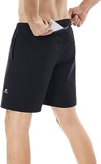 HOPLYNN Men's Long Compression Shorts Cool Dry Sports Tights Sports Undershorts Running Base Layer Shorts