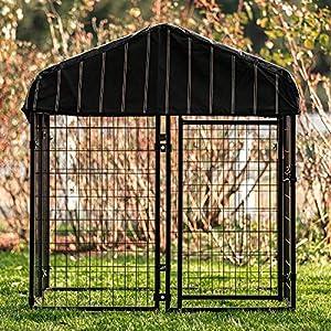 Waterproof outdoor dog kennel