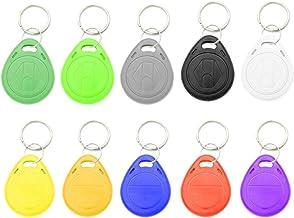 H HILABEE 5 STKS 125 KHz Herschrijfbare ID-kaart Token Keyfobs RFID-sleutel voor Veiligheidsslot