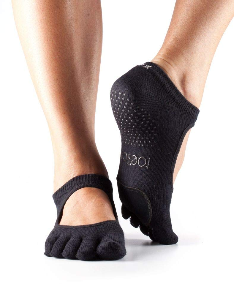 ToeSox Womens Pilates Barre LEATHER