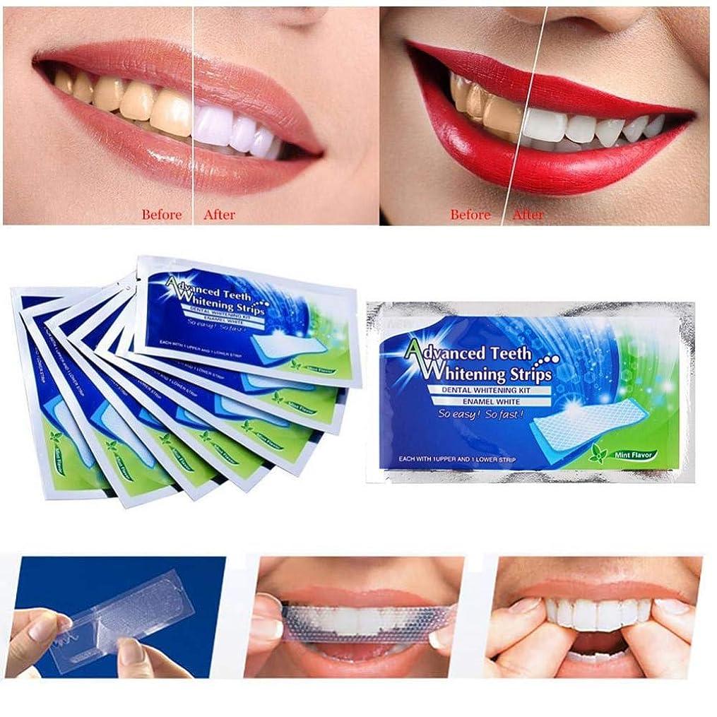 部分料理をするバンガロー(最高の品質と価格)20pcs(10bag)歯ホワイトニングストリップ歯科治療用の完璧なツール (Best Quality and Price) 20pcs (10bag) Teeth Whitening Strips Perfect Tool for dental care