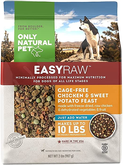 The Best Only Natural Pet Dog Food Chicken