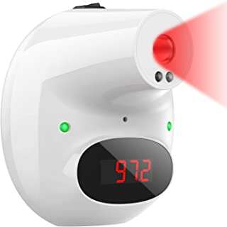XDX Infrared Thermometer for Adults Non Contact, Wall Mount Forehead Thermometer Digital Temperature Thermometer with Feve...