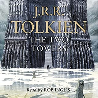 The Two Towers     The Lord of the Rings, Book 2              By:                                                                                                                                 J. R. R. Tolkien                               Narrated by:                                                                                                                                 Rob Inglis                      Length: 16 hrs and 36 mins     3,389 ratings     Overall 4.8