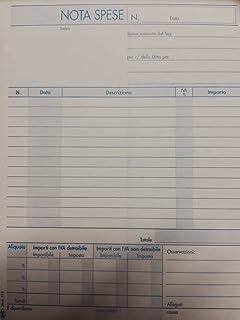 Bocco Presenze Mensili 124//A Dulice Copia 25//25