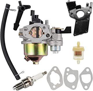 Venseri GX 120 Carburetor + Fuel Filter Spark Plug for Honda GX160 5.5 HP GX200 6.5 HP Engine, Carburetor for Honda GX160 GX110 GX140 GX200 GX120 5.5HP 4HP 6.5HP Engine