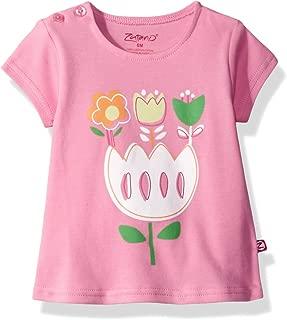 Baby Girls' Short Sleeve Swing Tshirt